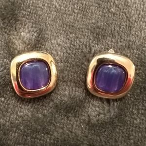 Vintage (Made in Italy) clip on earrings